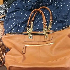 NWOT Vegan Leather Bag or Laptop Briefcase!